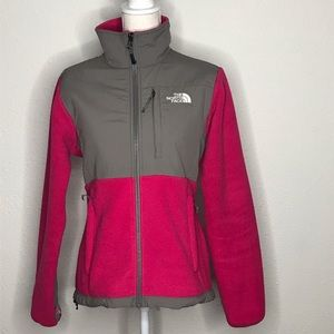 The North Face Denali Zip Up Fleece Pink Small